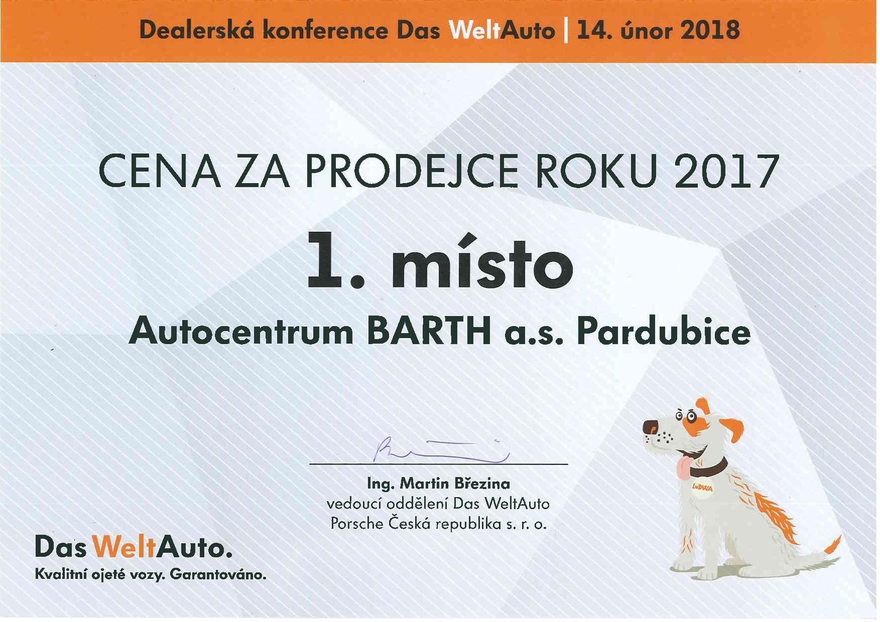 Ocenění Das WeltAuto 1