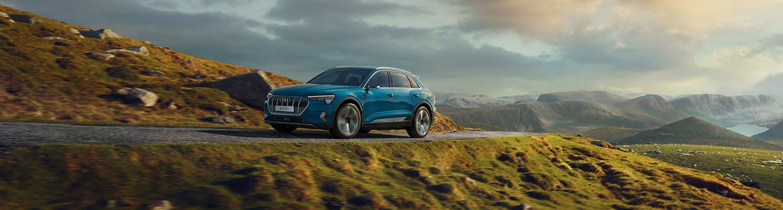 Audi e-tron terénní vzhled