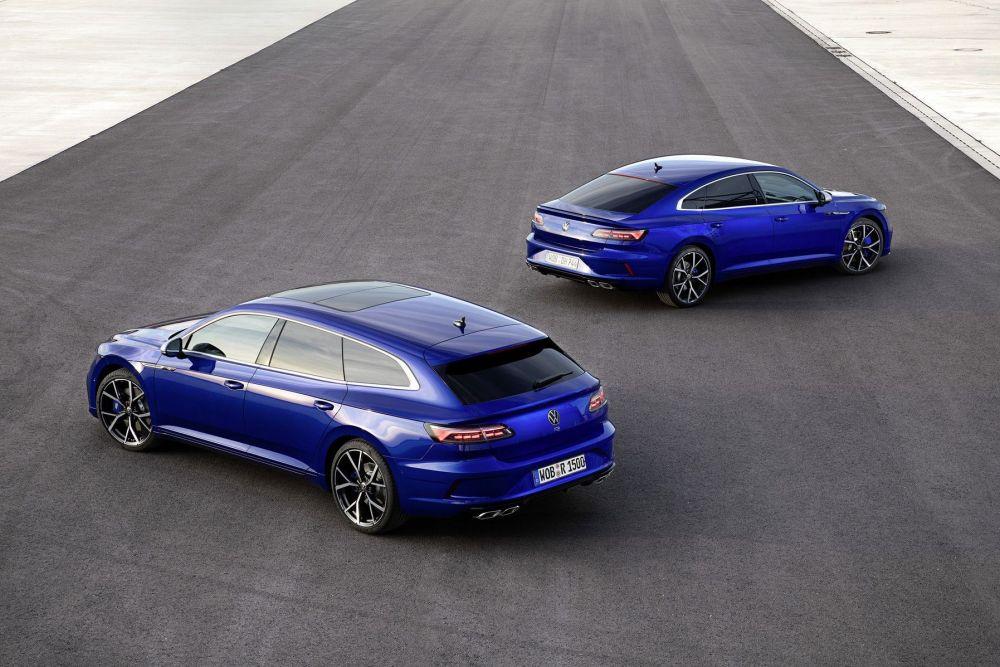 Volkswagen zahájil prodej nových sportovních modelů Arteon R a Arteon Shooting Brake R