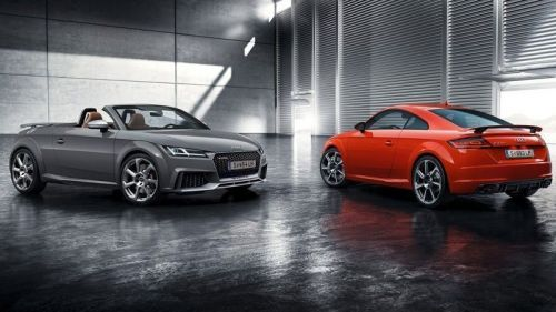 Audi TT RS Coupé a Roadster